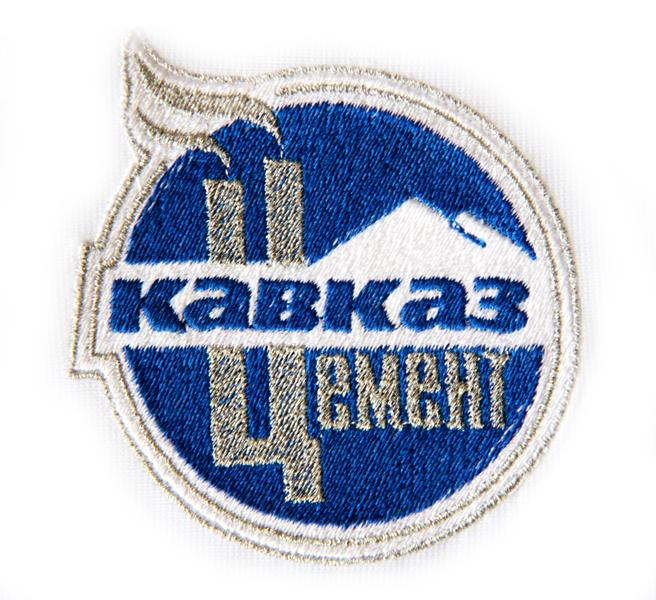 Логотип методом вышивки